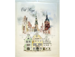 "Dvielis ""Old Riga Yellow"" 3D"